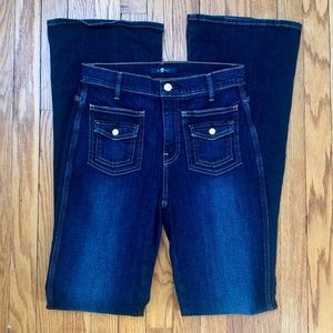 7 For All Mankind Vintage Trouser High Waisted
